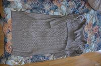 Отдается в дар вязанное платье для кормящих мам