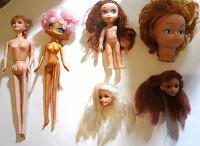 Отдается в дар Куклы для игры и на ХМ