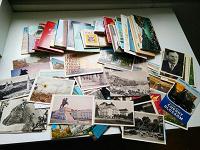 Отдается в дар Открытки и почтовые карточки 50-60х