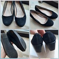 Отдается в дар 2 пары женской обуви разм.36-37 (зимние+туфли)