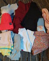 Отдается в дар Небольшой пакет одежды на девочку 104-110