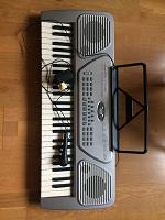 Отдается в дар Электрическое пианино-синтезатор
