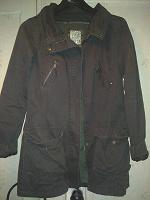 Отдается в дар Куртка-парка удлиненная, размер 48 рост 165