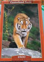 Отдается в дар Пазл с тигром