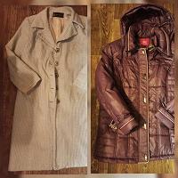Отдается в дар Демисезонная куртка и пальто 48-50 р-ра