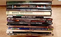 Отдается в дар DVD и CD-игры