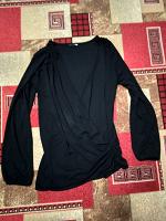 Отдается в дар Черная блузка на высокий рост, 48