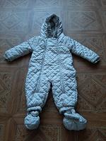 Отдается в дар Комбинезон на нехолодную зиму или холодную осень-весну 74 размер