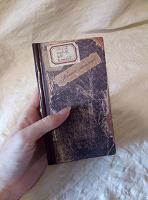 Отдается в дар Записная книжка «под старину»