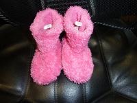 Отдается в дар обувь на первые шаги.