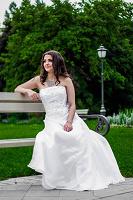 Отдается в дар свадебное платье 44-46размер