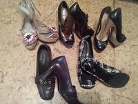 Отдается в дар Женская обувь, много