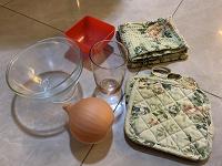Отдается в дар Посуда, стакан, прихватки