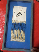 Отдается в дар Часы в голубых тонах