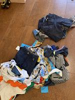 Отдается в дар Одежда для мальчика 5-7 лет