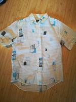 Отдается в дар Рубашка мужская летняя L