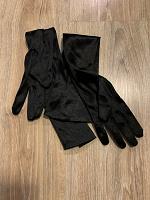 Отдается в дар Чёрные вечерние перчатки