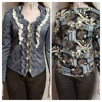 Отдается в дар Две блузки 46 размер