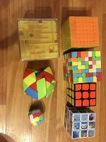 Отдается в дар Головоломки по типу кубика Рубика