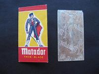 Отдается в дар Лезвие для бритья «Матадор»
