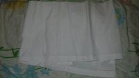 Отдается в дар Кусок ткани белый