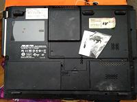 Отдается в дар Остатки от ноутбука asus f5n