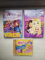Отдается в дар DVD диски для девочек