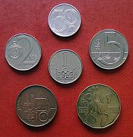 Отдается в дар Монеты Чехии