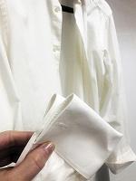 Отдается в дар Мужская рубашка под запонки