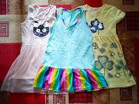 Отдается в дар Три платья для девочки рост 110