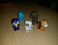 Отдается в дар маленькие фигурки ( игрушки)
