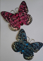 Отдается в дар Две интерьерные бабочки