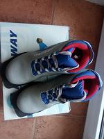 Отдается в дар Лыжные ботинки 33 размер