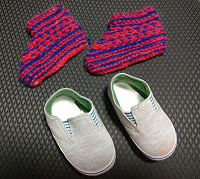 Отдается в дар Обувь малышам
