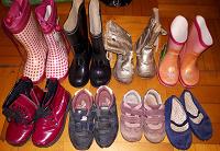 Отдается в дар Обувь для девочки 22-25 раз