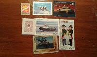 Отдается в дар Почтовые марки.