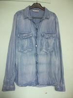 Отдается в дар Джинсовая рубашка женская, размер 40-42