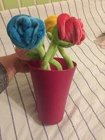 Отдается в дар Ваза с цветами