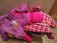 Отдается в дар Одежда для девочки с рождения пакетом
