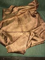 Отдается в дар Отрез ткани шёлк натуральный