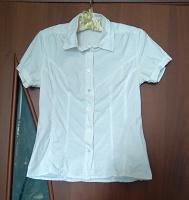 Отдается в дар Летняя белая блузка 40 р.
