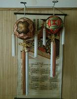 Отдается в дар Шары темари из Японии