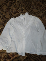 Отдается в дар Блузка белая, размер 40-42