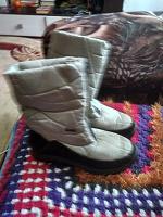 Отдается в дар зимний обуви