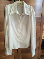 Отдается в дар блузка белая