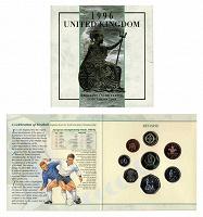 Отдается в дар Набор монет. Великобритания 1996г