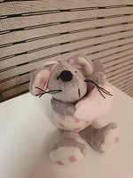 Отдается в дар Мышка плюшевая игрушечная новая