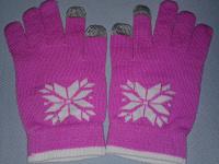Отдается в дар Новые женские перчатки с сенсорными пальчиками.