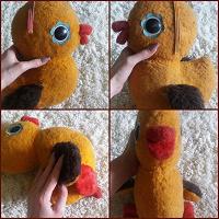 Отдается в дар Советская игрушка Жёлтый Утёнок