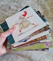 Отдается в дар Пачка почтовых открыток